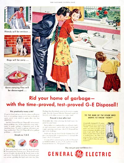 1951 GE Garbage Disposal #003671