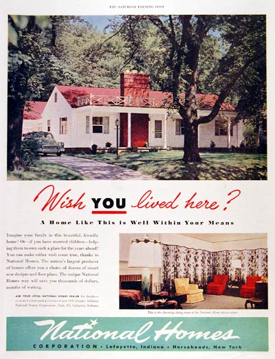 1951 National Homes #003673
