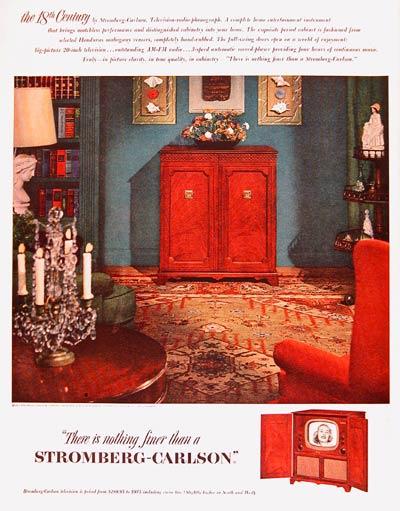 1951 Stromberg Carlson TV #003680