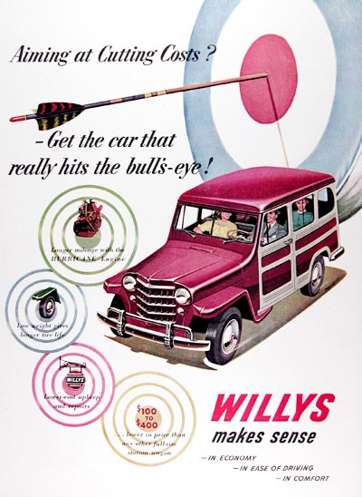 1951 Willys Jeep Station Wagon #024476