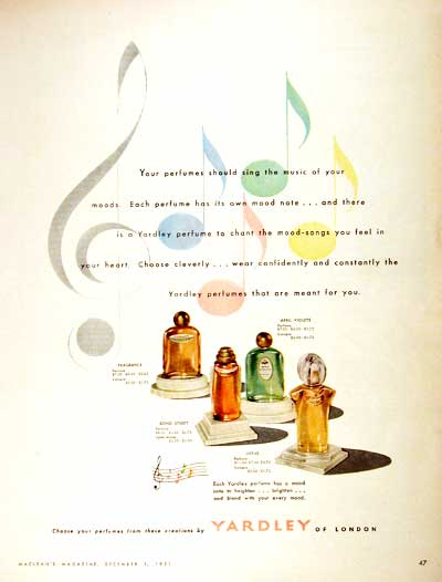 1951 Yardley Perfume