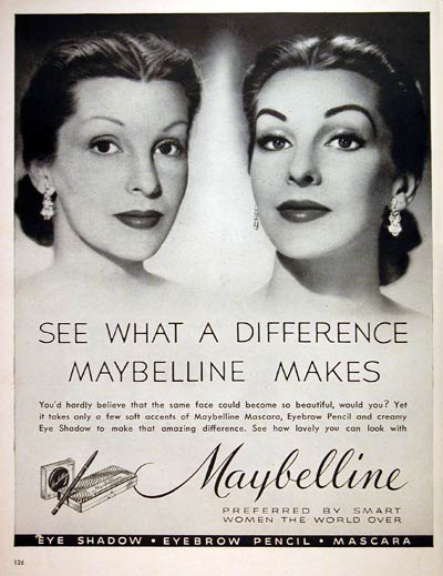 1952 Maybelline Makeup #004086