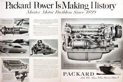 1952 Packard Engines #004067