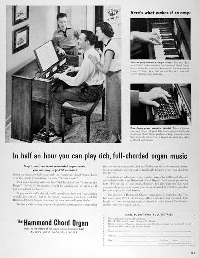 hammond chord organ eBay