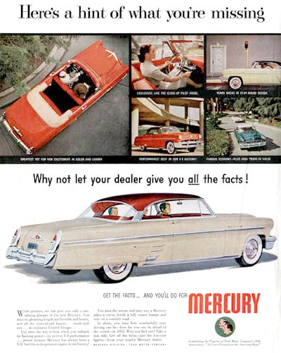 1953 Mercury Monterey Coupe #000592