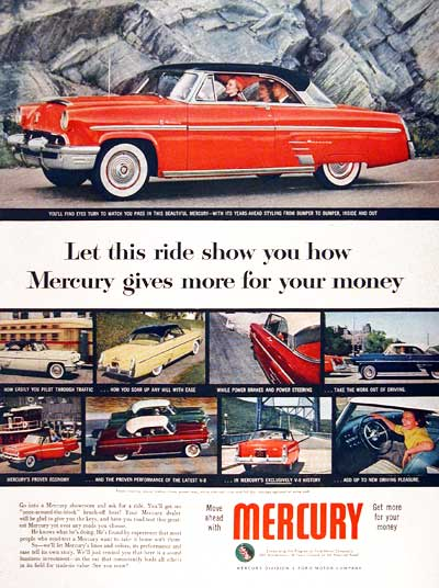 1953 Mercury Monteray #003475