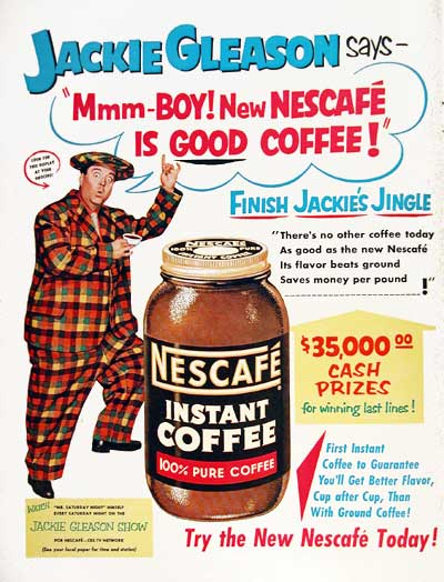 1953 Nescafé Coffee #003477