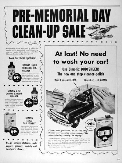 1953 Simoniz Car Polish #024628