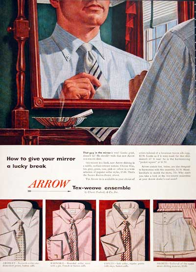 1954 Arrow Shirts & Ties #003990