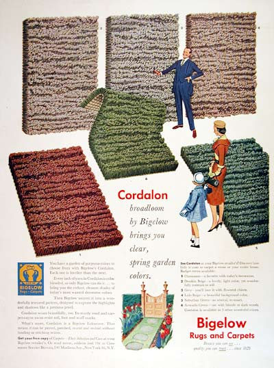 1954 Bigelow Rugs & Carpets #004483
