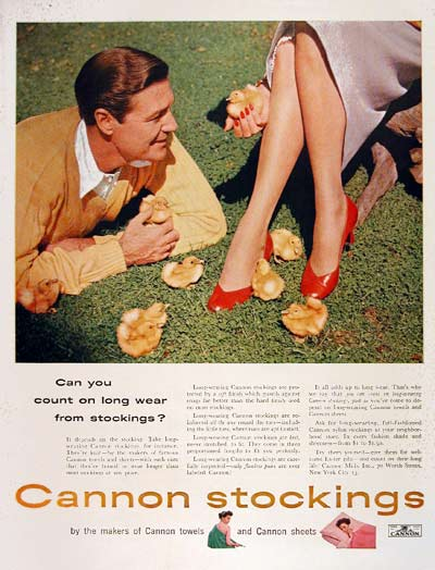 1954 Cannon Nylons #004487