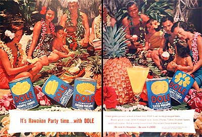 1954 Dole Pineapple #003997