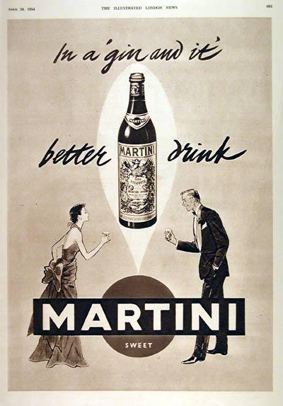 1954 Martini Vermouth #003159
