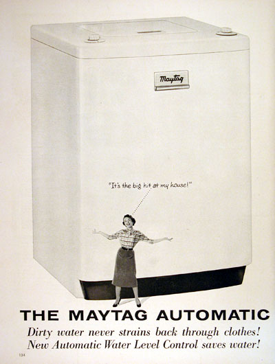 1954 Maytag Washing Machine #004466