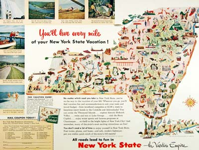 1954 New York State Tourism #001468