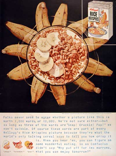 1954 Kellogg's Rice Krispies #004454