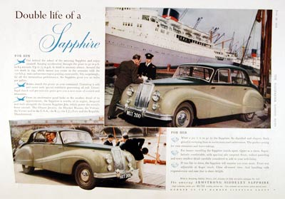 1954 Siddeley Sapphire #003169