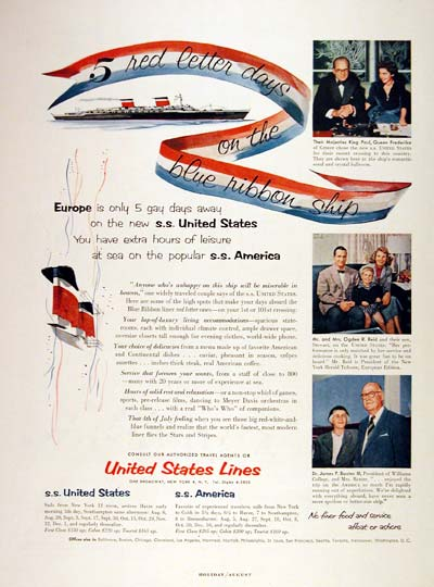 1954 United States Lines #002664
