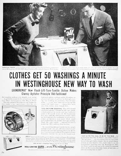1954 Westinghouse Washer Dryer #004150