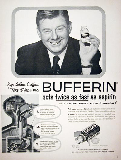 1955 Bufferin Analgesic #015883