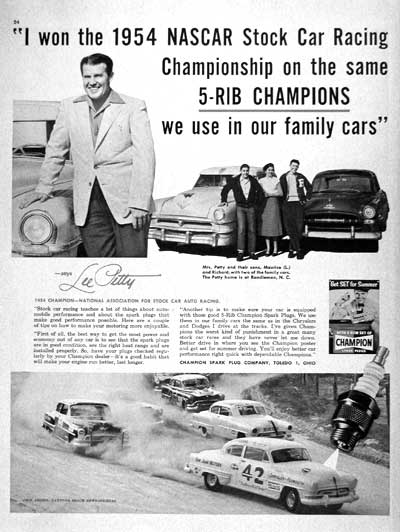 1955 Champion Lee Petty