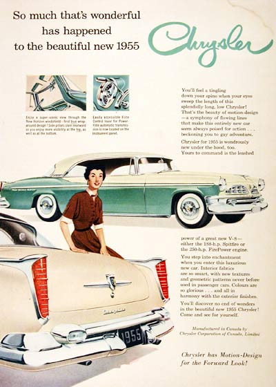 1955 Chrysler New Yorker #001427