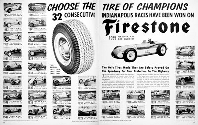 1955 Firestone Indy 500 #004124