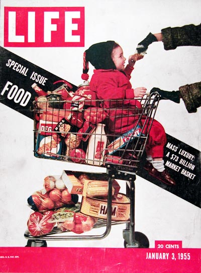 1955 Life Cover - Grocery #009623