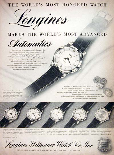 1955 Longines Watch Co. #007677