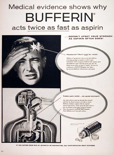 1956 Bufferin Analgesic #007616