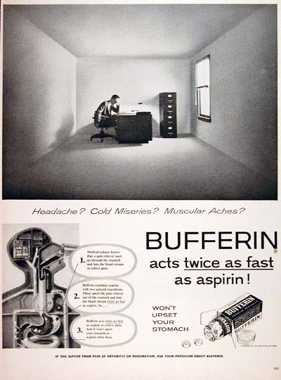 1956 Bufferin Analgesic #007570