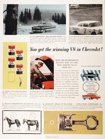 HISTOIRE DE NASCAR - Page 3 56chevroletv8motor