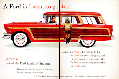 1956 Ford Country Squire #007613