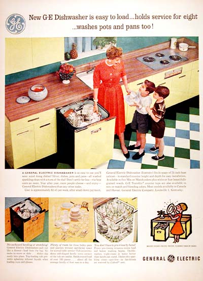1956 G.E. Dishwasher #007583