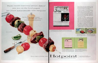 1956 Hotpoint Electric Range #009378