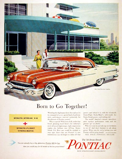 1956 Pontiac Catalina Sedan #006662