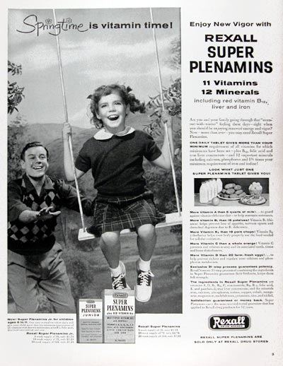 1956 Rexall Super Plenamins #009350