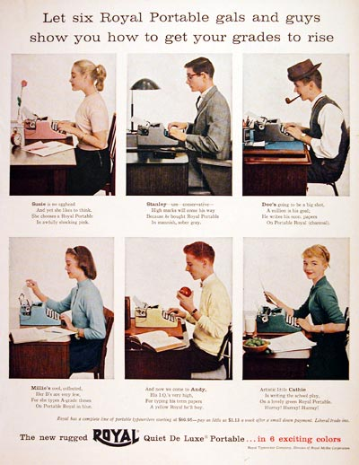 1956 Royal Typewriter #006966