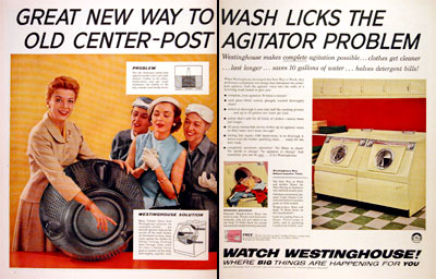 1956 Westinghouse Washer Dryer