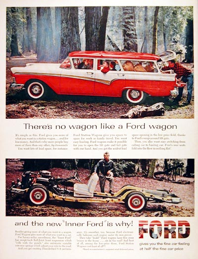 1957 Ford Country Squire #007090