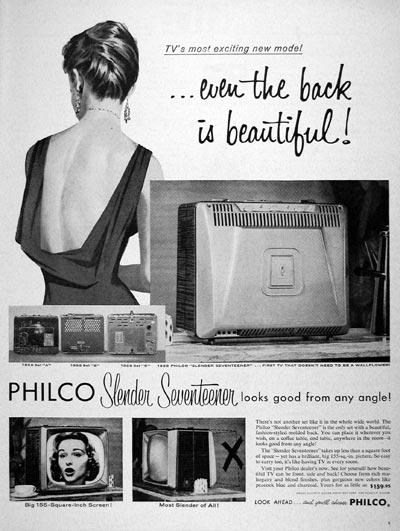 1957 Philco TV #007060
