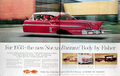 1958 Fisher Body Chevrolet Impala Sport Coupe #014701
