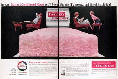 owens corning fiberglas insulation