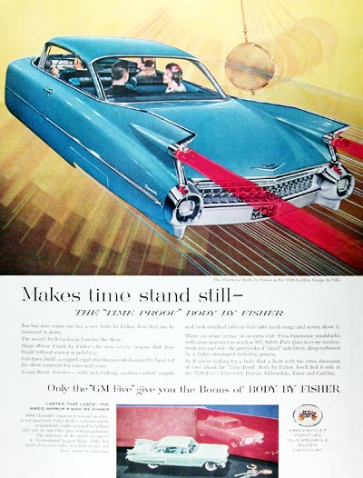 1959 Fisher Body Cadillac #018798
