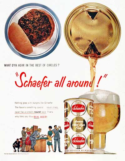 1959 Schaefer Beer #003429