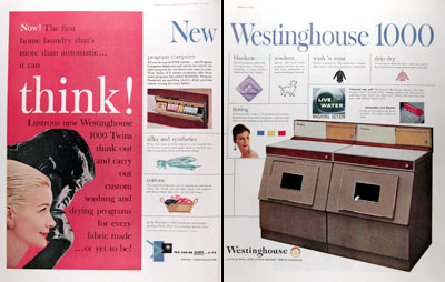 1959 Westinghouse Washer & Dryer #018793