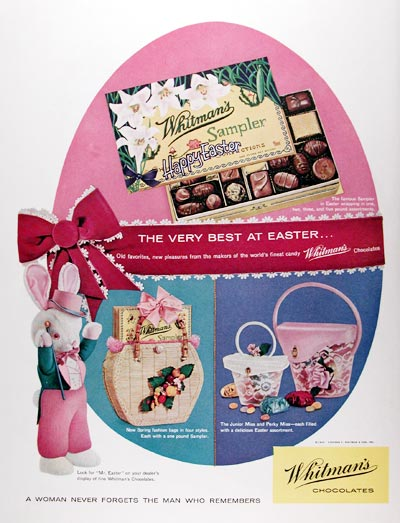 1959 Whitman's Chocolates #018796