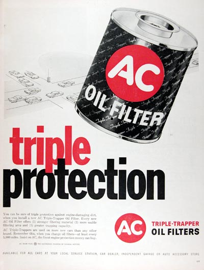 1960 AC Oil Filters #011381