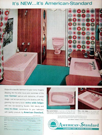 1960 American Standard Bathroom #011385