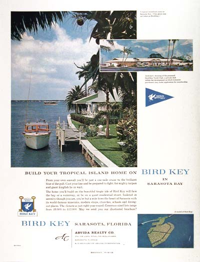 1960 Bird Key Sarasota